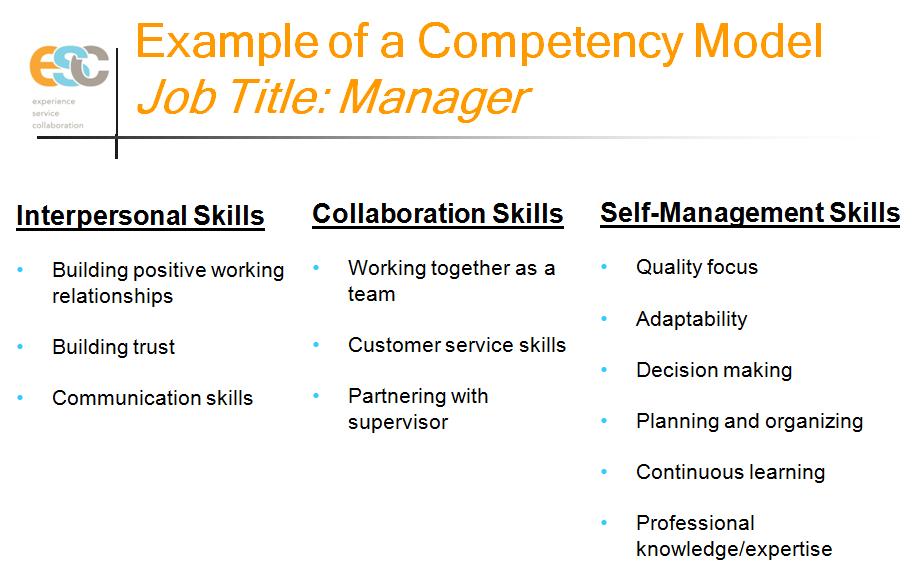 Jeff Berman Competency Model