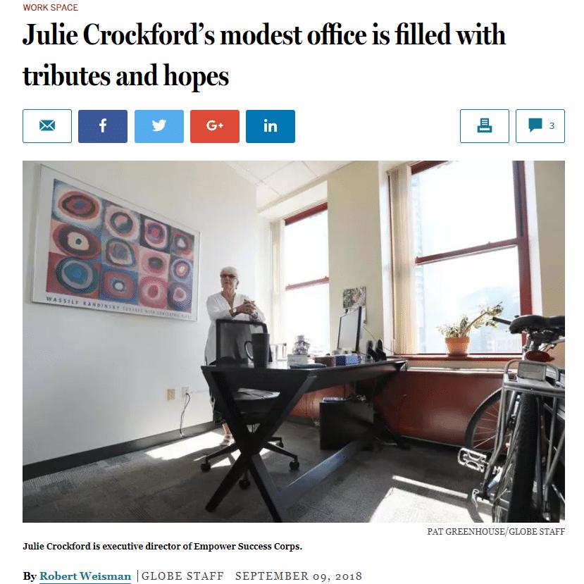 ESC profiled in the Boston Globe